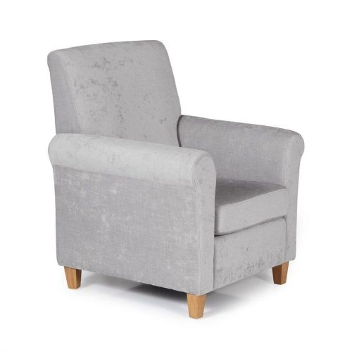 Ocassional Thurso Grey Occasional Chair